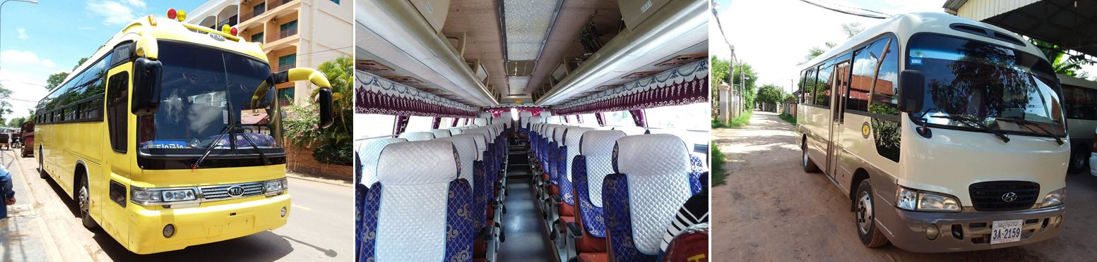 Автобус в Камбодже