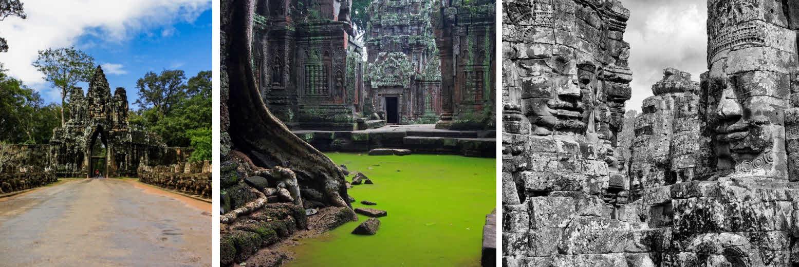 Храмы Камбоджи: Ангкор, Та Пром, Байон