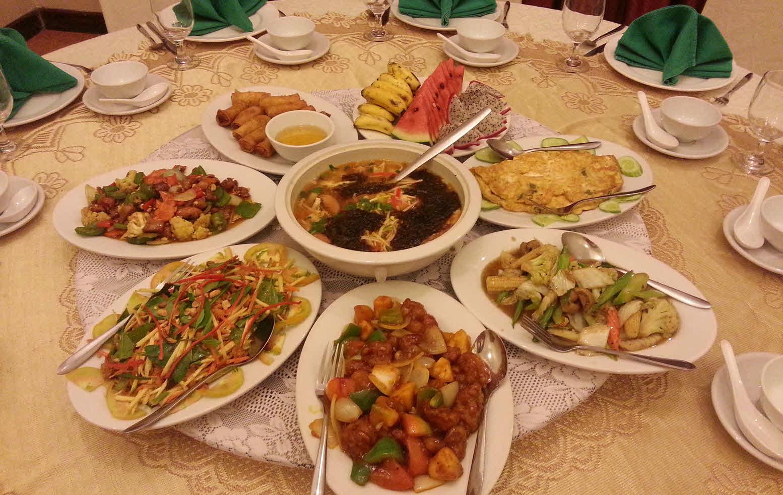 Обед в кхмерском ресторане
