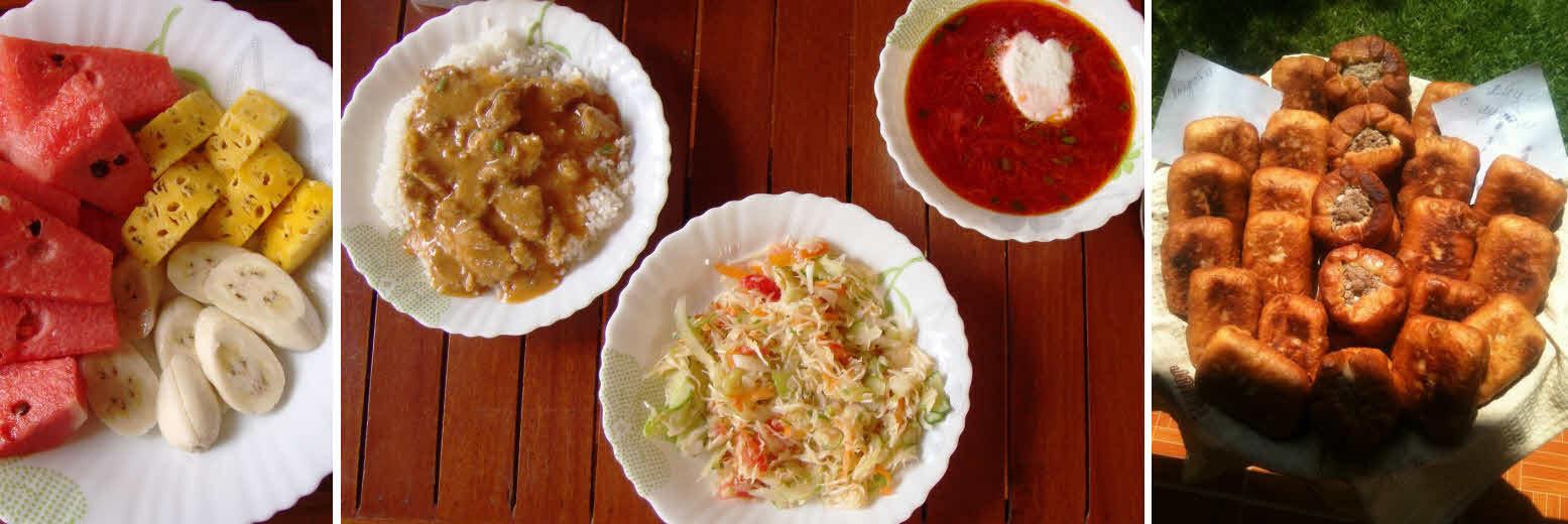 Обед в Камбодже в мексиканском ресторане