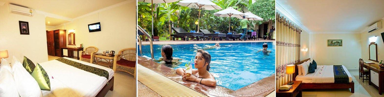 Отель в Камбодже 3*
